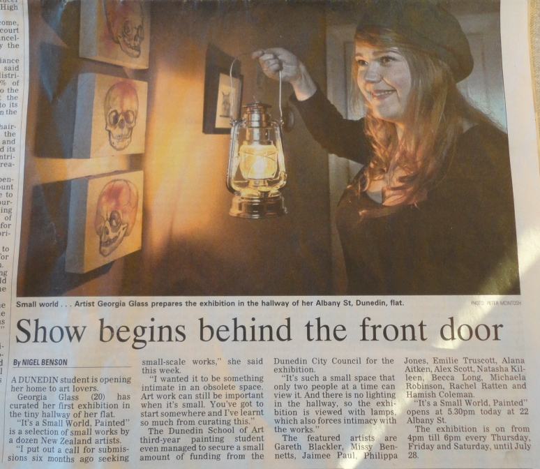 OTAGO DAILY TIMES July 2012