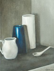STILL LIFE #1 Acrylic on canvas, 35cm x 27cm
