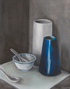 STILL LIFE #2 Acrylic on canvas, 48cm x 41cm