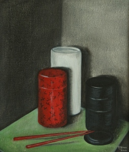 STILL LIFE #3 Exhibited at Ashburton Society of Arts SOLD to private collector