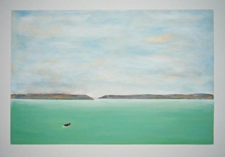 BEACON #1 Acrylic on canvas 60cm x 40cm SOLD
