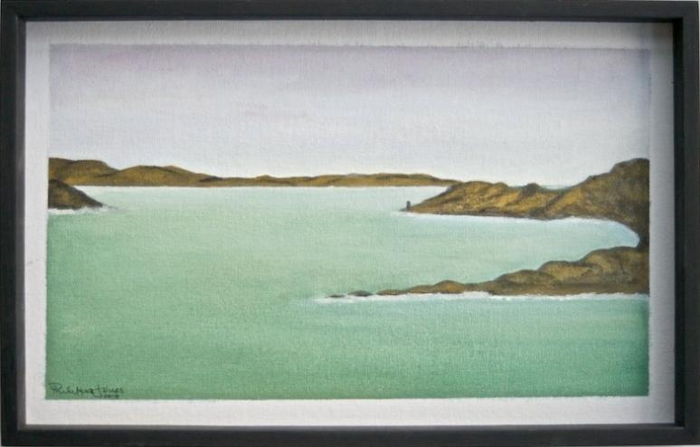 BEACON #2 Acrylic on canvas 34cm x 20cm