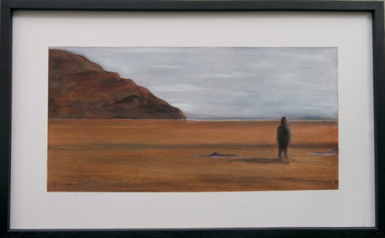 SEEK #1 Oils 36cm x 18cm SOLD